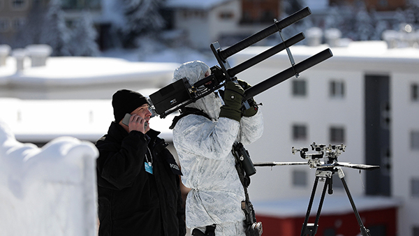 Anti-drone technology in Davos